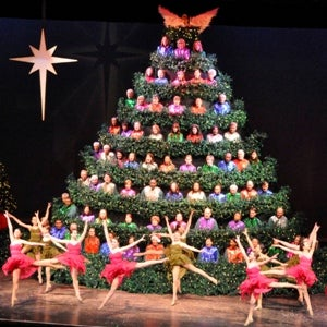 Singing Christmas Tree.The 59th Annual Singing Christmas Tree The Singing